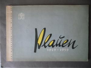 Broschüre Festschrift Bild- und Leseheft Plauen 1949-1959