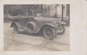 Orig. Foto Oldtimer Cabrio mit Chaffeur ca. 1930