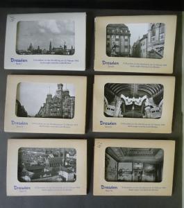 60 AK Dresden vor der Zerstörung am 13.2.1945 Serie I - VI