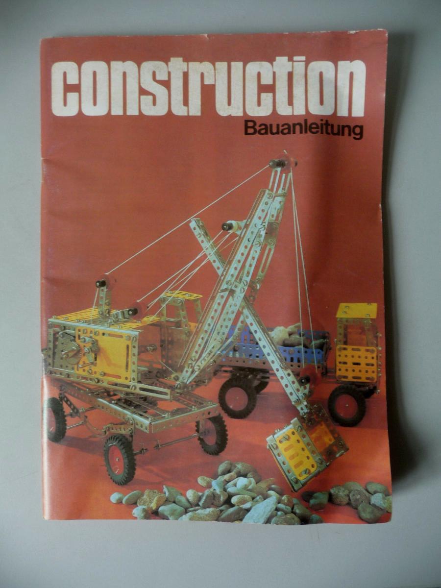 Construction Bauanleitung zum Metallbaukasten 0