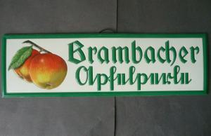 Reklameschild Pappschild