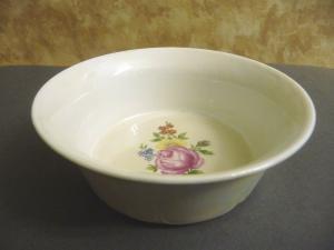 Kleine Schale Schüssel mit Blumendekor Porzellan