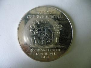 Medaille Oberwiesenthal 1977 Fichtelberghaus