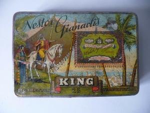 Zigarettendose Blechdose Nestor Giancalis King