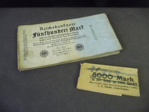 30 x Reichsbanknote 500 Mark Reichsbankdirektorium Berlin 1922
