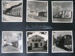 6 Orig. Fotos Heiligendamm Bahnhof ca. 1960