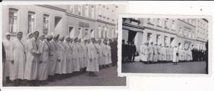 2 x Orig Foto Krankenschwestern Rotkreuz-Schwestern Plauen ? 1936