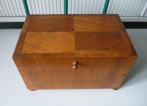 Holzkiste Holzbox ohne Schlüssel