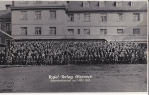 Großes Orig. Foto Belegschaft Gruppenbild Vogel-Verlag Pößneck Thüringen 1932