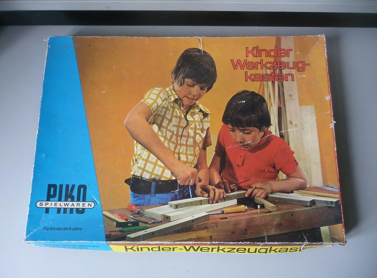 Kinder-Werkzeugkasten Piko DDR 0