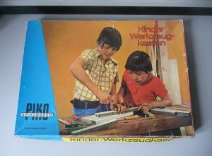 Kinder-Werkzeugkasten Piko DDR