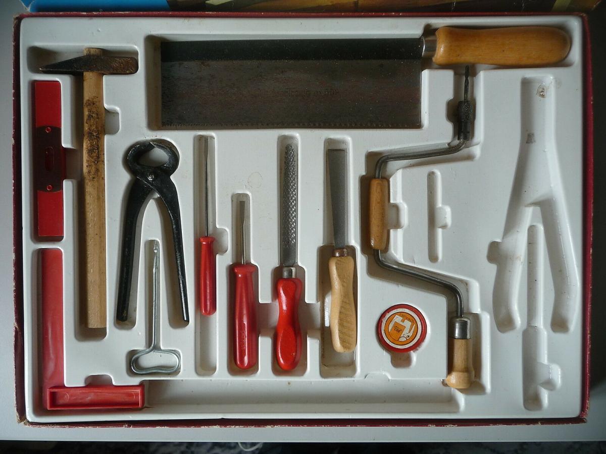 Kinder-Werkzeugkasten Piko DDR 1