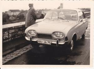 Orig. Foto Auto Youngtimer Ford Taunus ca. 1960