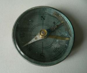 Kleiner Kompass Militärkompass Fa. G. Lufft Stuttgart