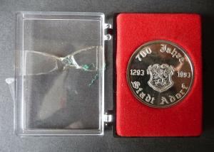 Medaille Jubiläum 700 Jahre Stadt Adorf Vogtland 1993