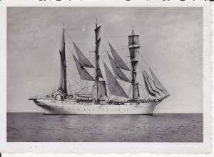 Orig. Foto Segelschiff unbezeichnet ca. 1940