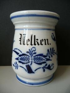 Gewürzdose Vorratsdose Nelken Zwiebelmuster Keramik