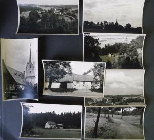 8 Orig. Fotos Altensalz Vogtland Kirche Ort Hammermühle 1956