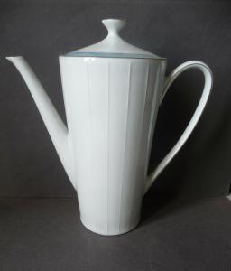 Kaffeekanne 1950er Jahre Retro-Stil / Zeh Scherzer Porzellan