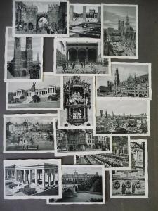 Serie 32 Kleinbilder München Ansichten ca. 1940