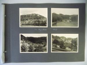 8 Orig. Fotos Pegnitztal Dörfer Franken 1955