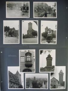 18 Orig. Fotos Nürnberg Altstadt Burg Franken 1955