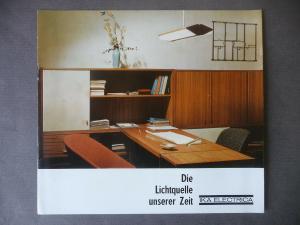 Reklameprospekt IKA Electrica Leuchtenbau DDR 1965