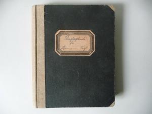 Flugtagebuch Flugbuch Pilot Flieger Wiesbaden 1932-34