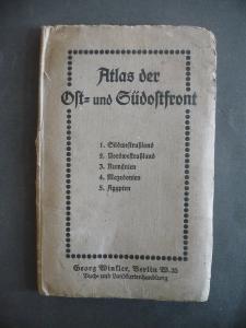 Atlas Ostfront Südosttfront 5 Karten Erster Weltkrieg