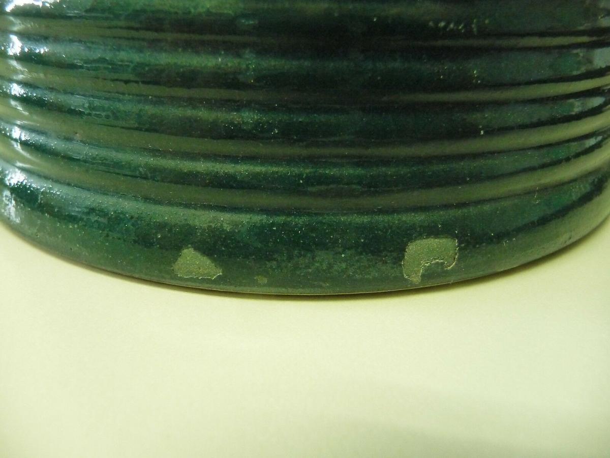 Schöner Krug weiß-grün für die Landhausküche 3
