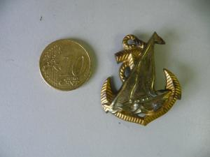 Abzeichen Marine Schiff Anker