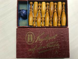 Kegelsport Spiel Tischspiel 1920er Jahre