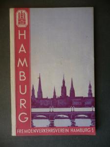 Reiseführer Reklame Tourismus Hamburg 1930