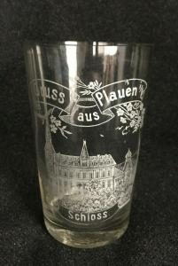 Glas/Trinkglas Plauen im Vgtl.