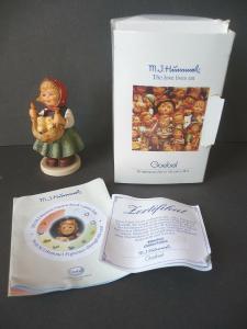 Hummel-Figur Kükenliesl Originalkarton Zertifikat / Goebel Porzellan Hum 385/4/0