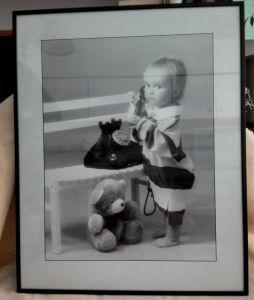 Kinderfotografie - schwarz /weiß
