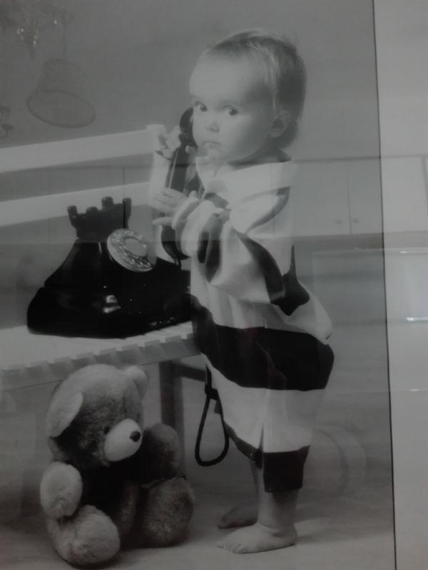Kinderfotografie - schwarz /weiß 2