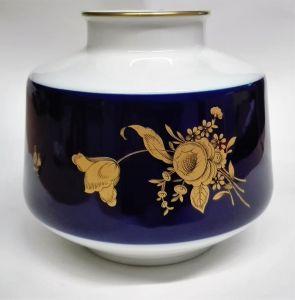 Heinrich - echt Kobalt- Vase