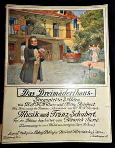 Das Dreimäderlhaus / Singspiel in 3 Akten / Notenheft um 1930-1940