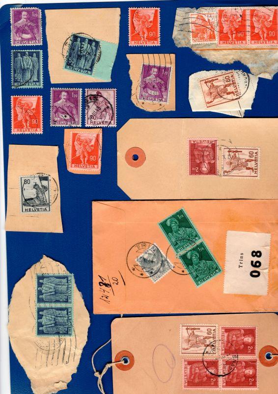 Lot Schweiz 1941 / Mi: CH 377 - 383 + 385