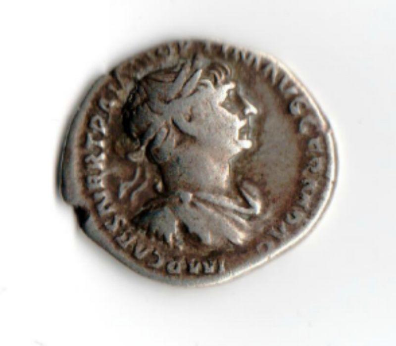 Römische Münze / Trajan 98 - 117 n.Chr. / Silber