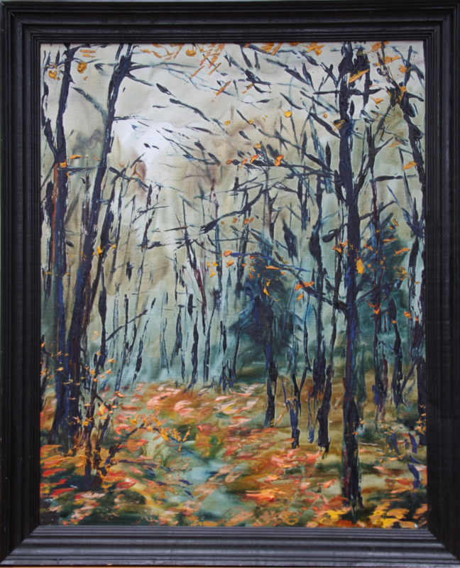 """""""Herbst I"""" N.I.Dobrin, Moskau, 1994 0"""