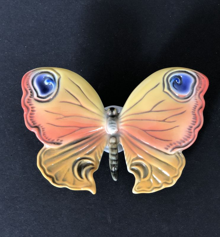 Porzellan Figur Schmetterling Karl Ens um 1920 B 11 cm x 7 cm