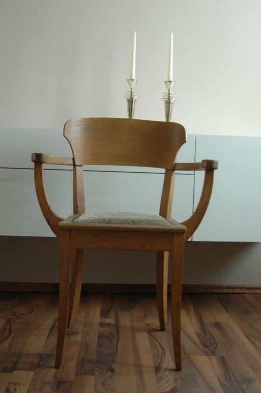 Richard Riemerschmid Hellerauer Stuhl 1919, Armlehnstuhl Sessel