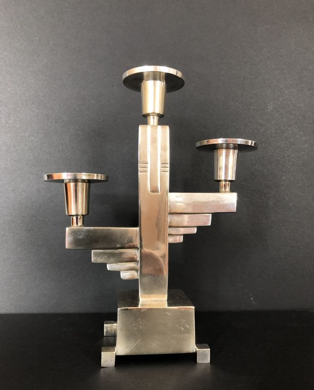 Original Art Deco Kerzenständer Kerzenleuchter Candlestick ca. 1925 0