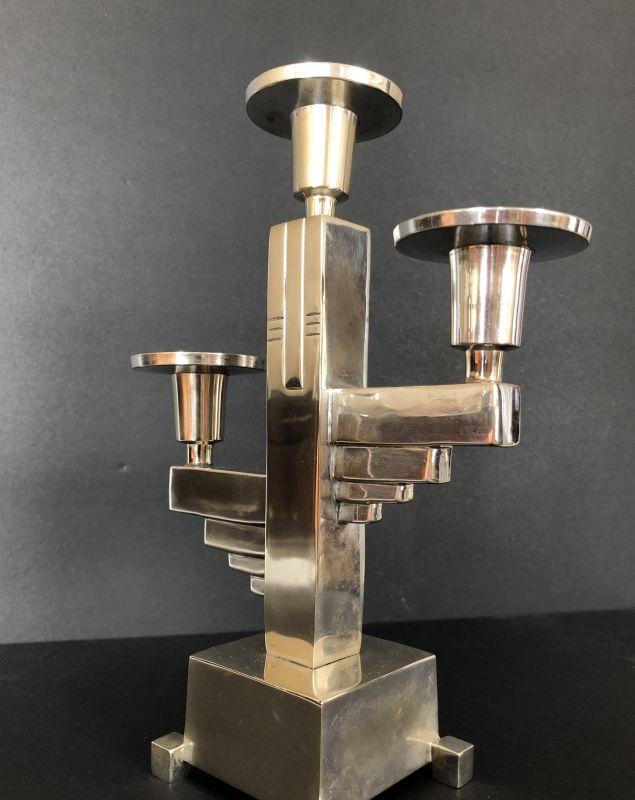 Original Art Deco Kerzenständer Kerzenleuchter Candlestick ca. 1925 2