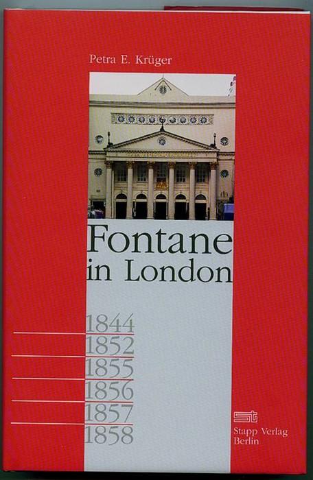 Fontane in London. Krüger, Petra E