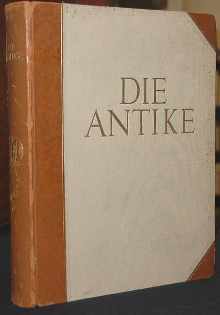 Die Antike. Zeitschrift für Kunst und Kultur des klassischen Altertums. Siebenter Band. Jaeger, Werner (Hrsg)