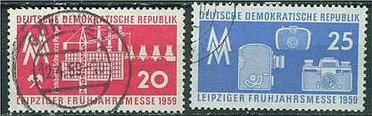 DDR Mi 678 - 679 gest. K1-3126