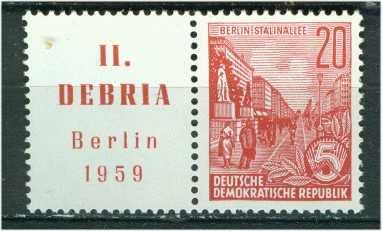 DDR Mi Zf 580 postfr. WZd 22 K1-1780